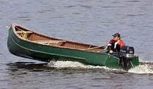 freighter canoe fishing